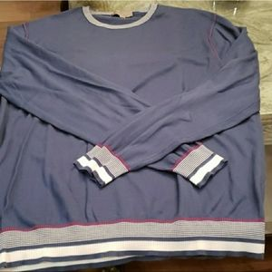 Canali sweater fits big large